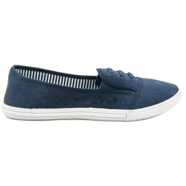 Balada sininen Slip-on -kengät