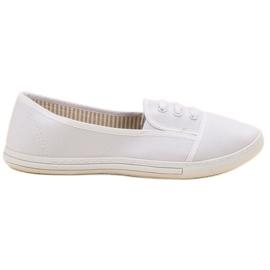 Balada valkoinen Slip-on -kengät