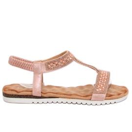 Naisten sandaalit pinkki HT-67 Pink