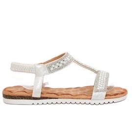 Sandaalit naisten hopea HT-67 Silver harmaa