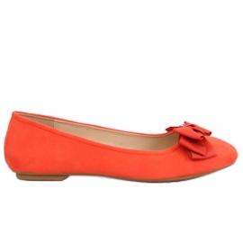 Oranssi naisten ballerina 3173 Orange