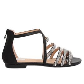 Musta naisten sandaalit LL6339 Musta