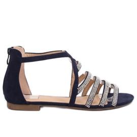 Sandaalit naisten laivasto sininen LL6339 Sininen