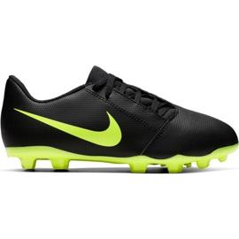Nike Phantom Venom Club Fg Jr AO0396 007 jalkapallokengät musta