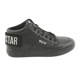 Korkeat mustat tennarit Big Star 274351