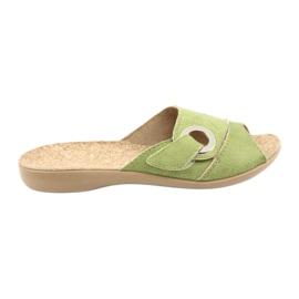 Befado naisten kengät pu 265D008 vihreä