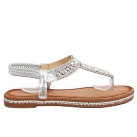 Sandaalit hopeaa ZY163 Hopea harmaa