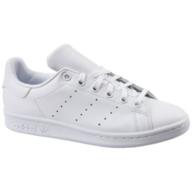 Valkoinen Adidas Stan Smith Jr S76330 kengät