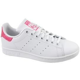 Valkoinen Adidas Stan Smith Jr. DB1207 kengät
