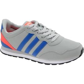 Harmaa Adidas V Jog K Jr AW4147 kengät
