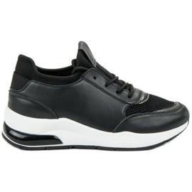 Ideal Shoes musta Naisten urheilukengät