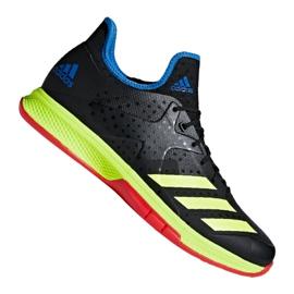 Adidas Counterblast Bounce M BD7408-käsipallokengät musta musta, keltainen