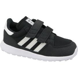 Musta Adidas Originals Forest Grove Cf Jr B37749 -kengät