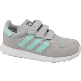Harmaa Adidas Originals Forest Grove Cf Jr CG6709 -kengät