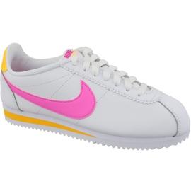 Nike Classic Cortez Nahka W 807471-112 valkoinen