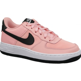 Nike Air Force 1 VDay Gs -kengät W BQ6980-600 pinkki