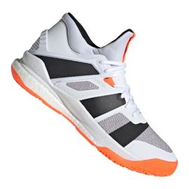 Adidas Stabil X Mid M F33827 kengät valkoinen valkoinen