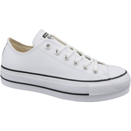 Valkoinen Converse Chuck Taylor All Star Lift Puhdas Ox W 561680C