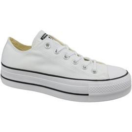 Valkoinen Converse Chuck Taylor All Star Lift W 560251C kengät