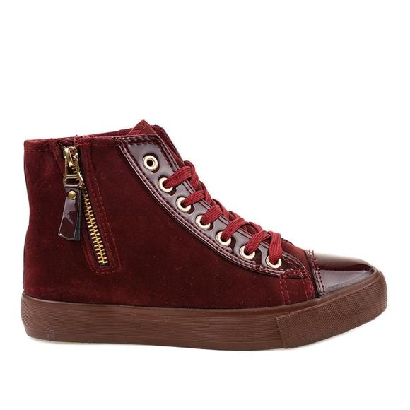 Punaiset JX-95 -kenkäkengät punainen