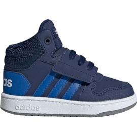 Laivasto Adidas Hoops Mid 2.0 EE6714 lasten kengät