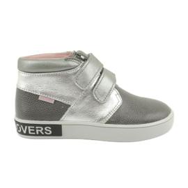 Mazurek FashionLovers harmaa-hopea saappaat