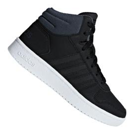 Musta Adidas Hoops Mid 2.0 K Jr F35797 kengät