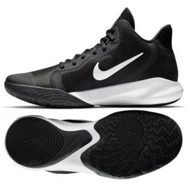 Nike Precision Iii M AQ7495 002 koripallokengät mustat