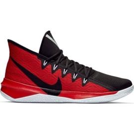Nike Zoom Evidence Iii M AJ5904 001 kengät mustat ja punaiset