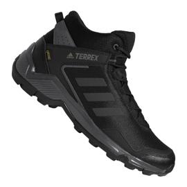 Musta Adidas Terrex Eastrail Mid Gtx M F36760 kengät