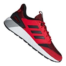 Punainen Adidas Questarstrike M G25772 kengät