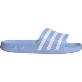 Sininen Adidas Adilette Aqua W EE7346 tossut
