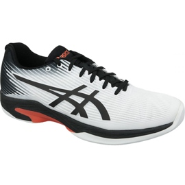 Valkoinen Asics Solution Speed ​​Ff Indoor M 1041A110-102 tenniskengät
