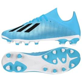 Adidas X 19,3 Mg M EF7549 siniset kengät