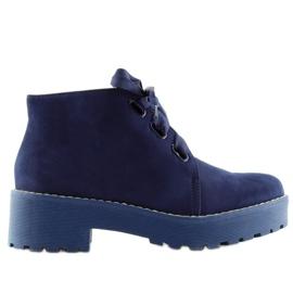 Naisten kengät tummansininen LL219 Sininen laivasto