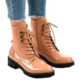 Vaaleanpunaiset naisten kengät XW37278 pinkki