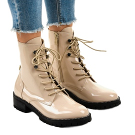 Beige naisten kengät XW37278 ruskea