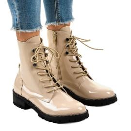 Ruskea Beige naisten kengät XW37278