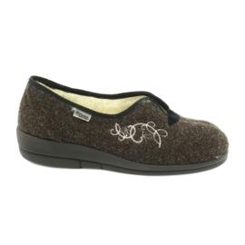 Befado naisten kengät pu 940D356 ruskea