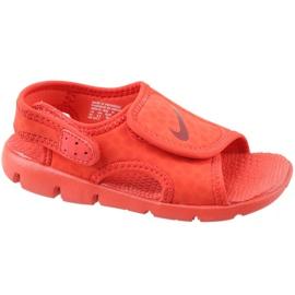 Punainen Nike Sunray Adjust 4 Ps Jr 386518-603 sandaalit
