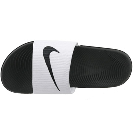 Valkoinen Nike Kawa Slide Gs / Ps 819352-100 tossut