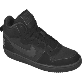Nike Sportswear Court Borough Mid (GS), Jr 839977-001 musta