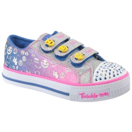 Monivärinen Skechers Step Up Jr 10704L-BLNP kengät