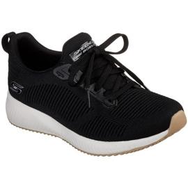 Skechers Bobs Squad W 31362-BLK kengät musta