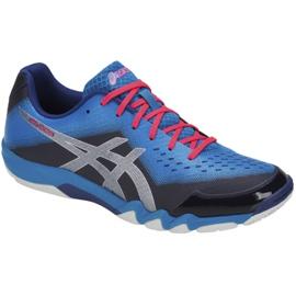 Asics Gel-Blade 6 M R703N-400 squash-kengät sininen