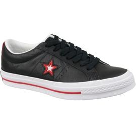 Musta Converse One Star M 161563C kengät