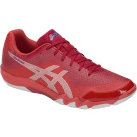 Punainen Asics Gel-Blade 6 M R703N-600 squash-kengät