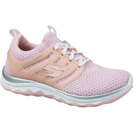 Pinkki Skechers Diamond Runner Jr 81561L-LTPK kengät
