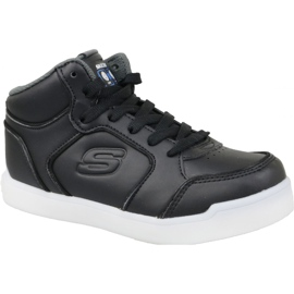 Musta Skechers Energy Lights Jr 90622L-BLK kengät