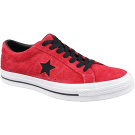 Converse One Star M 163246C kengät punaiset punainen
